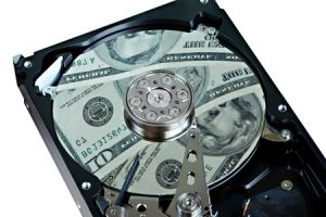 What is the cost to recover damaged hard drive?
